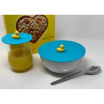 "***On Topz Rubber Duck 6.5"" Food Storage Topper"