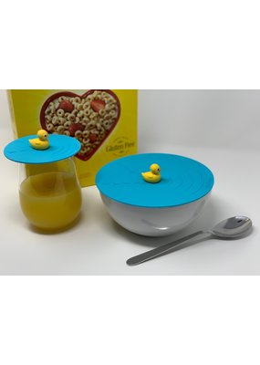 "On Topz ***On Topz Rubber Duck 6.5"" Food Storage Topper"