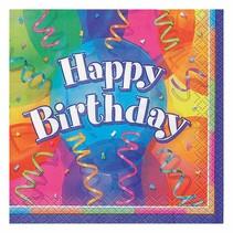 ***Brilliant Birthday Beverage Napkins 16ct