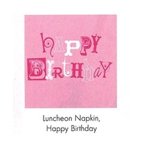***Pinkalicious Birthday Lunch Napkins 18ct