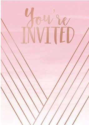 ***Rose' All Day Invitations