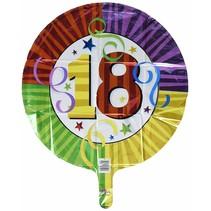 ***18th Birthday Mylar Balloon
