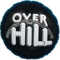 ***Over the Hill Black Mylar Balloon