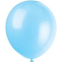"***12"" Latex Balloons, 10ct - Baby Blue"