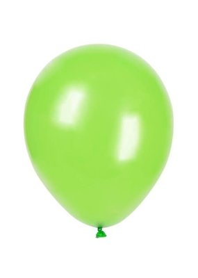 "****12"" Latex Balloons, 10ct - Lime Green"