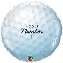 """***Golf Ball 18"""" Mylar Balloon"""