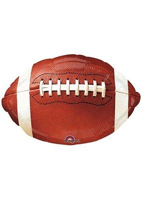***Football Jr Shape Mylar Balloon