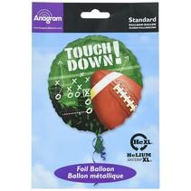 """***Touchdown Football 18"""" Mylar Balloon"""