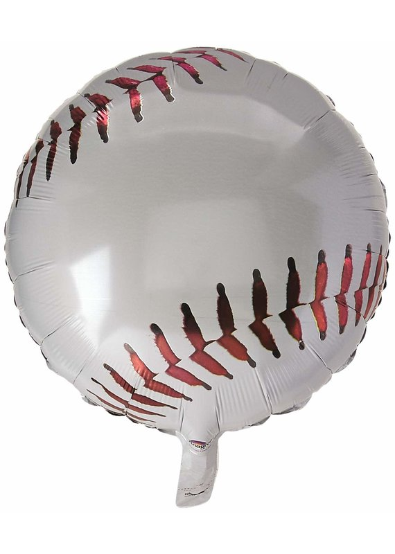 """*****Championship Baseball 18"""" Mylar Balloon"""