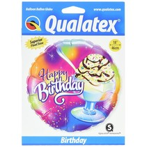 "***Birthday Ice Cream Sundae 18"" Mylar Balloon"