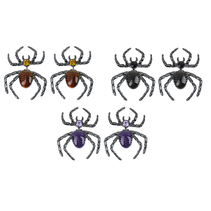 ***Creep it Real Spider Earrings