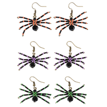 ***Spooky Spider Earrings