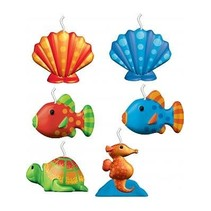 ***Under The Sea Mini Molded Candles