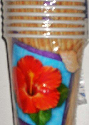 ***Club Luau 9oz Paper Cups