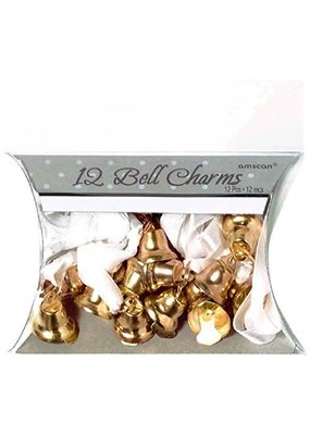 ***Gold 12ct. Bell Charms