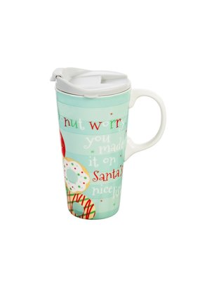 ***Donut Worry You Made it on Santa's Nice List Coffee Mug