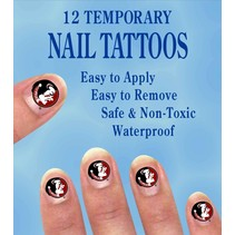 ***Florida State Temporary Nail Tattoos