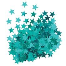 ***Metallic Teal Star Confetti .5oz Bag