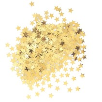 ***Metallic Gold Star Confetti .5oz Bag