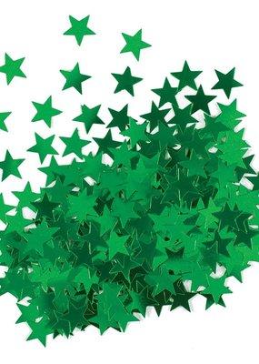 ***Metallic Green Star Confetti .5oz Bag