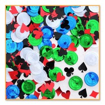 ***POKER PARTY CONFETTI .5oz Bag