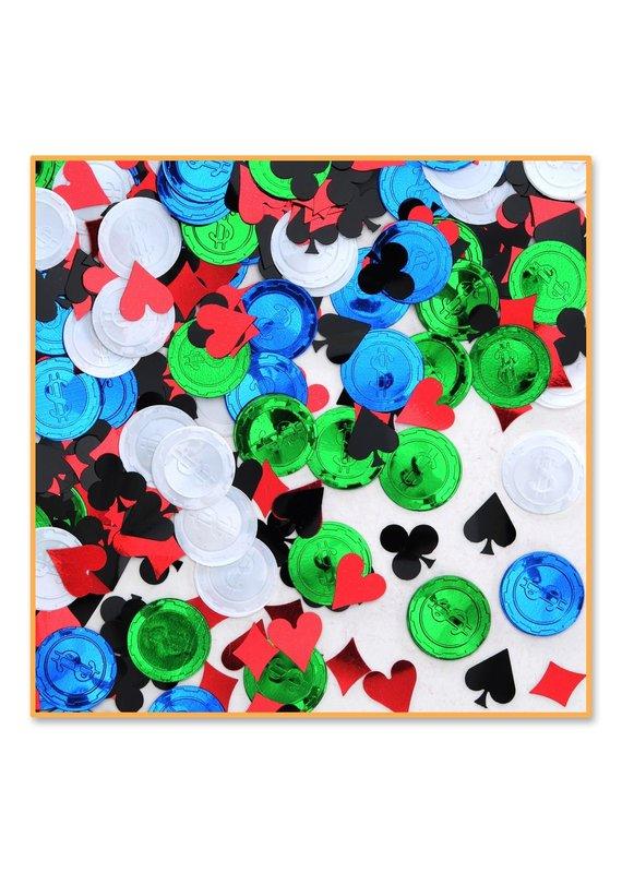 ****Poker Party Confetti .5oz Bag