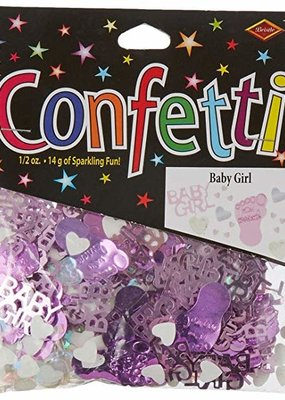 ***Baby Girl Confetti .5oz Bag