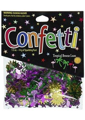 ***Tropical Breeze Luau Confetti .5oz Bag