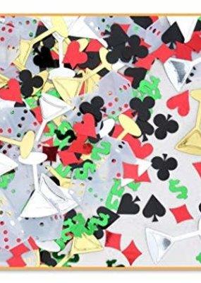 ***Casino Night Confetti .5oz Bag