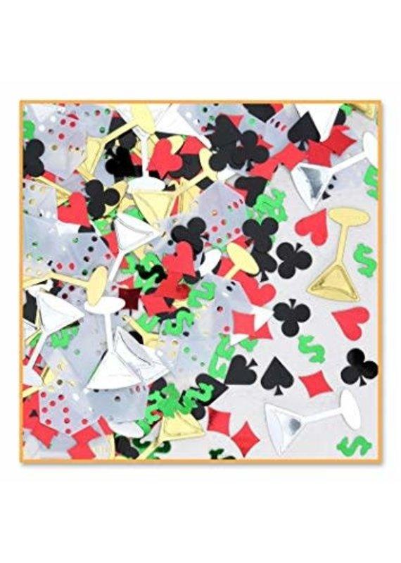 ****Casino Night Confetti .5oz Bag