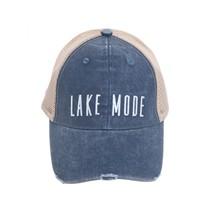 ***Distressed Lake Mode Hat