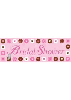 ***Bride to Be Dots Giant Party Banner