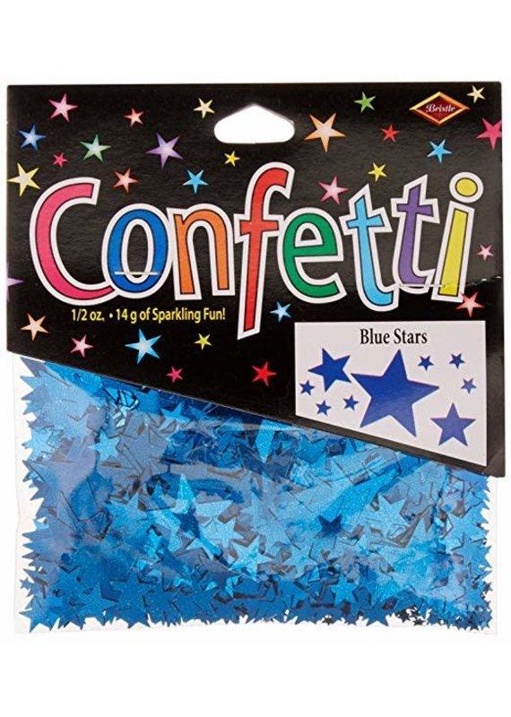 *****Blue Stars Confetti .5oz Bag
