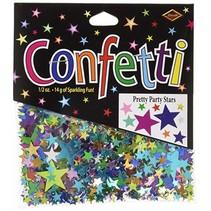 ***Pretty Party Stars Confetti .5oz Bag