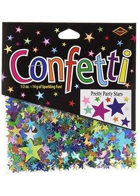 ****Pretty Party Stars Confetti .5oz Bag