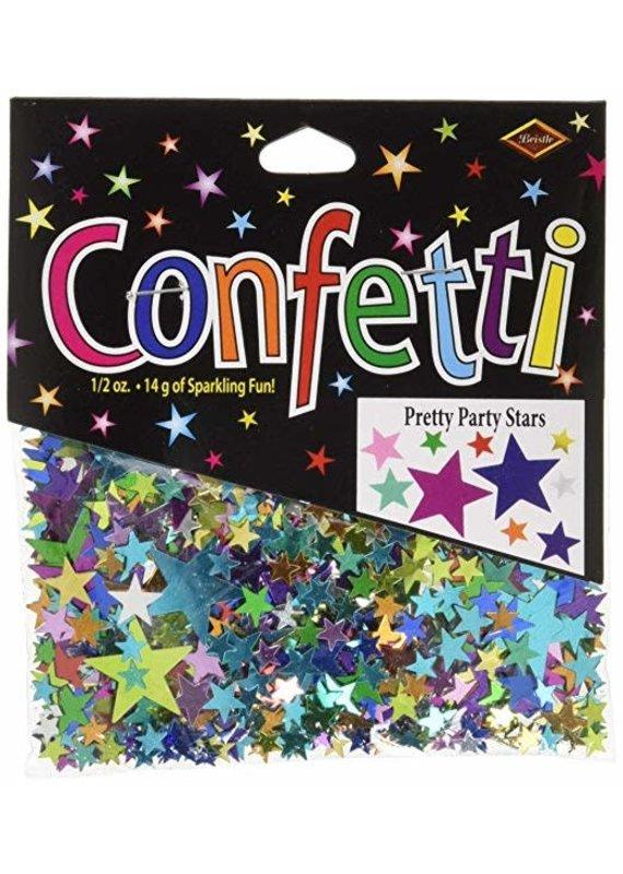 *****Pretty Party Stars Confetti .5oz Bag