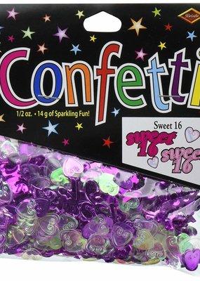 ***Sweet 16 Sixteen Confetti .5oz Bag