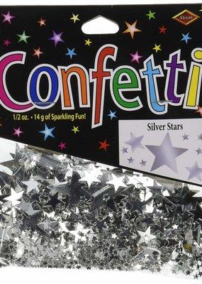 ***Silver Stars Confetti .5oz Bag