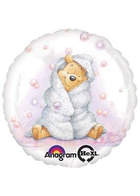 "***Winnie the Pooh Baby Girl 18"" Mylar Balloon"