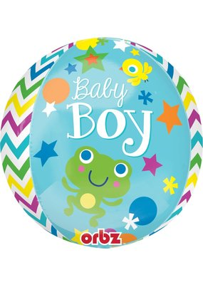 ***Sweet Baby Boy Orbz Balloon