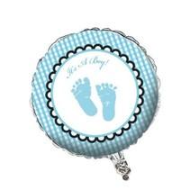 "***It's a Boy Feet 18"" Mylar Balloon"