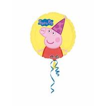 "***Peppa Pig 17"" Mylar Balloon"