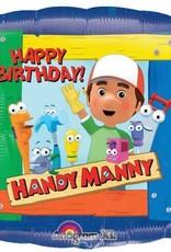 ***Handy Manny Birthday Square Mylar Balloon