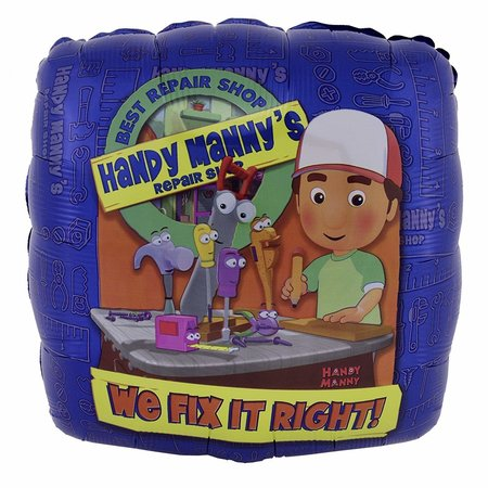 ***Handy Manny We Fix It Mylar Balloon