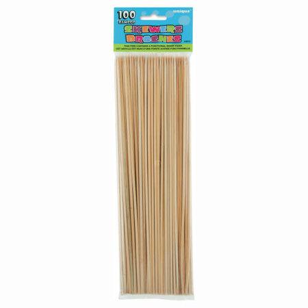***Bamboo Skewers 100ct.