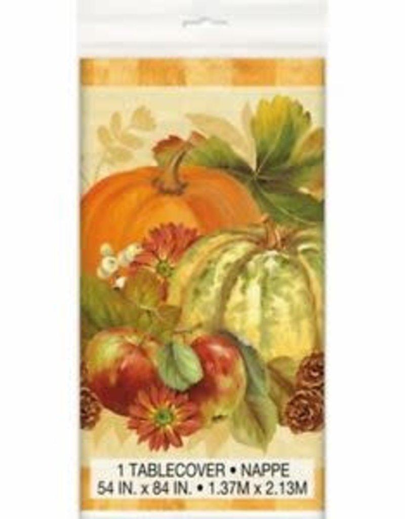 ***Pumpkin Harvest Tablecover
