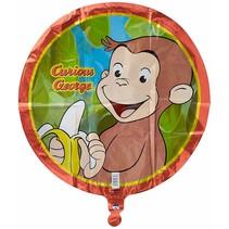 """***Curious George 18"""" Mylar Balloon"""
