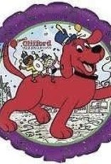 "M&D industries ***Clifford the Big Red Dog 18"" Mylar Balloon"