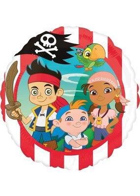 "***Jake and the Neverland Pirate 18"" Mylar Balloon"