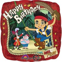 ***Jake and the Never Land Pirates Birthday Mylar Balloon